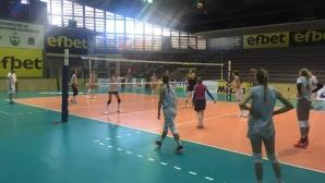 14 волейболистки започнаха подготовка за световната квалификация в Холандия