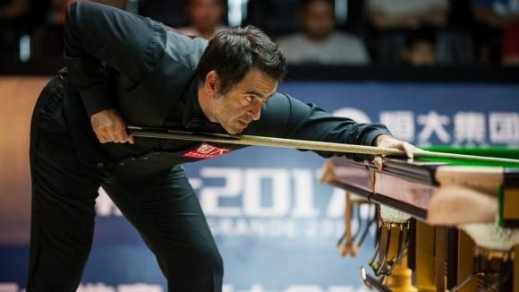 Рони О'Съливан позволи на Дот само 21 точки в Китай
