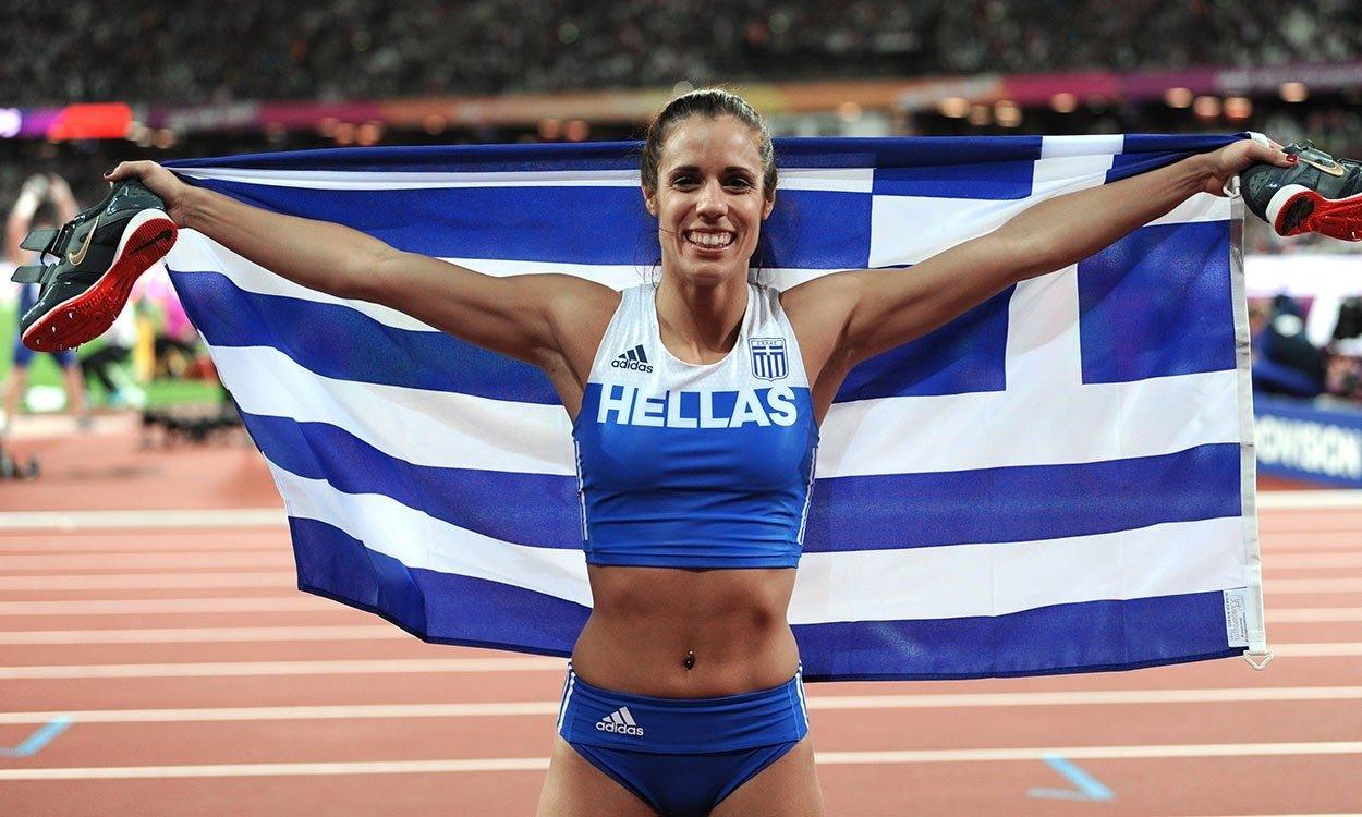 Екатерини Стефаниди стана европейска и олимпийска шампионка в очарския скок