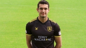 Николай Тодоров с гол в Шотландия