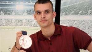 Владимир Далаклиев е българската делегация за 29-та Лятна Универсиада в Тайпе