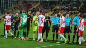 Пламен Илиев със силен мач за Астра