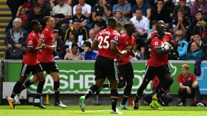 Суонзи - Ман Юнайтед 0:4, гледайте тук