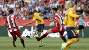 Атлетико Мадрид показа голям характер срещу новак на старта