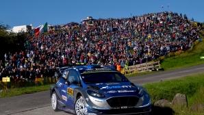 Танак спечели рали Германия, но Ожие е новият стар лидер във WRC (видео)