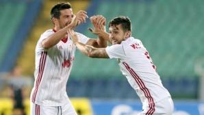 Звезда на ЦСКА-София с любопитен коментар за новаците Септември и Витоша (видео)