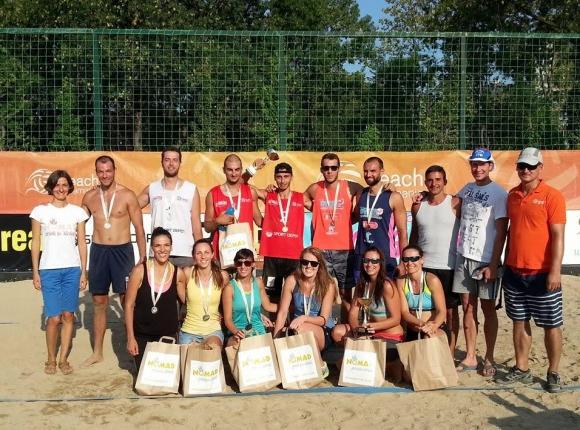 Бонжолов и Славков спечелиха турнира от Beach Volley Mania в София
