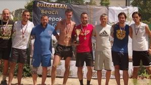 Плажен такроу: Ясен шампионът и на Пловдив, идва ред на Шкорпиловци