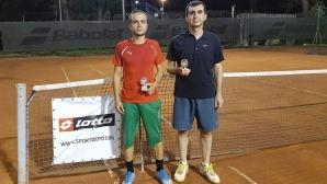 Светослав Кърчевски взе първа титла при средно напредналите в Интерактив тенис