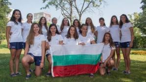 Важна победа за девойките на ЕП по водна топка