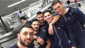 Националите заминаха с усмивка за Евроволей 2017