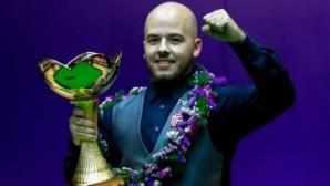"""Шампионът от Китай Бресел на прага на първо участие в """"Мастърс"""""""