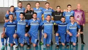 """Левски """"София-Запад"""" стартира мощно в UEFA Futsal Cup, играч на """"сините"""" с 4 гола"""