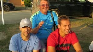 Стилиян Петров гледа талантите на Монтана