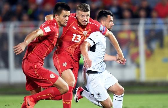 Македония попари надеждите на Албания за Мондиал 2018