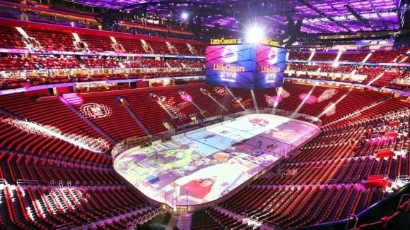 863 млн. долара, 850 000 кв. метра, 20 хиляди зрители и адски много светлина - това е новото бижу на Детройт