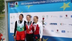 Десислава Георгиева със сребро на скиф на Евро 2017
