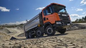 Scania пусна нова генерация на гамата си строителни камиони