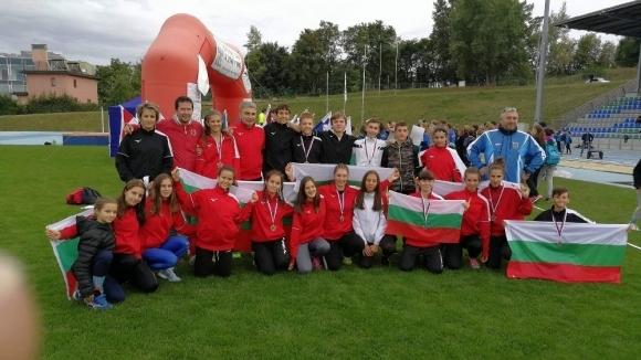 България спечели и титли от Европейските детски лекоатлетически игри