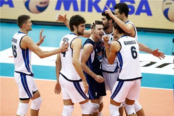 Олимпийският волейболен вицешампион Италия записа първа победа на турнира Grand