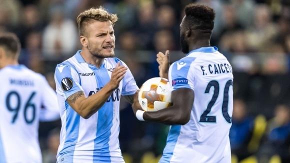 Отборът на Лацио започна с победа участието си в група