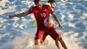 Мачовете на България от финалите на Европейската лига по плажен футбол пряко на спортните канали на Мтел