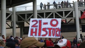 21-0: Пред Индиънс вече е само историческият връх (видео)