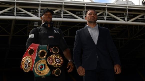 Най-големият боксов канал в САЩ дава Джошуа - Пулев