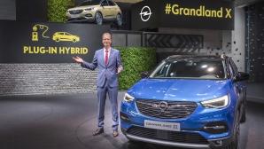 Opel обявиха първия си рlug-In хибриден модел на изложението във Франкфурт