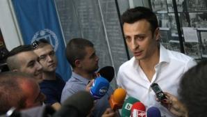 Бербатов взе диплома и каза: Мога да управлявам БФС един ден, а мога да стана и министър (видео)