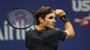 Нов рекорд за неостаряващия Федерер