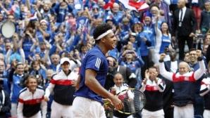 """Франция избра Лил за финала на """"Купа Дейвис"""" срещу Белгия"""