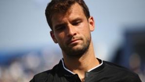 Григор Димитров тренира в Ница? (снимка)
