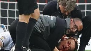Кристиан Гентнер успешно опериран след ужасяващия сблъсък