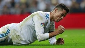"""Реал Мадрид се сгромоляса на """"Бернабеу"""", вече е на 7 точки зад Барса (галерия)"""