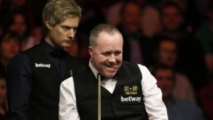 Робъртсън и Хигинс изхвърчаха от World Open преди 1/4-финалите