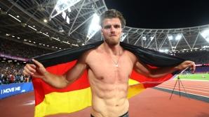 Германски триумф във веригата на IAAF за многобой