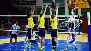 Хебър и Стяуа (Букурещ) с драматични победи на старта на турнира в Пазарджик (снимки)