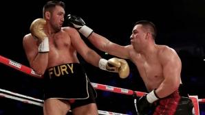 Джоузеф Паркър защити титлата си срещу Фюри