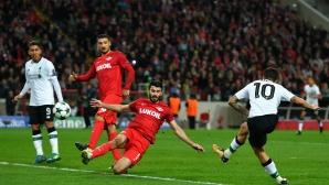 Ливърпул се размина с победата и в Москва