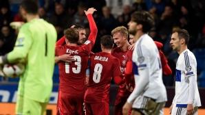 Чехия вкара пет на Сан Марино, но настроението остава минорно