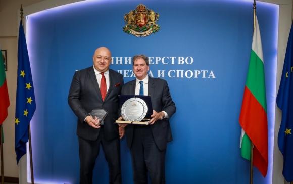 Министър Кралев се срещна с президента на ITF