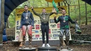 Студ, сняг и много адреналин белязаха финала на Българските даунхил серии