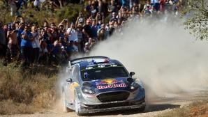 Ожие може да спечели титлата във WRC още този месец