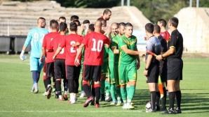 Добруджа, Хитрино и Суворово ще спорят за място в следващата фаза на Купата за Аматьорската лига