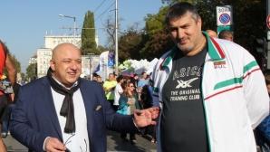 Любо Ганев следеше изкъсо столичния маратон