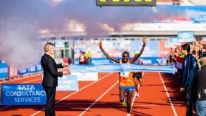 Чероно спечели маратона на Амстердам с рекорд на трасето
