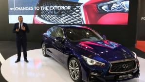Infiniti и Hyundai блестят на Автомобилен салон София 2017
