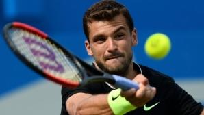 Григор Димитров заменя Мъри на турнира във Виена