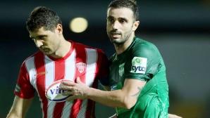 Макриев не успя да вкара гол срещу отбора на Филипов и Стойчев